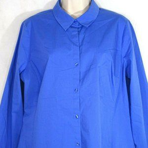 Worthington Button Up Shirt Career Casual Size 14